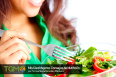 TeresaMaría González Márquez, sus diez Mejores Consejos de Nutrición