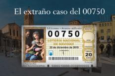 00750 Lotería Nacional 2019: EL extraño caso del número premiado