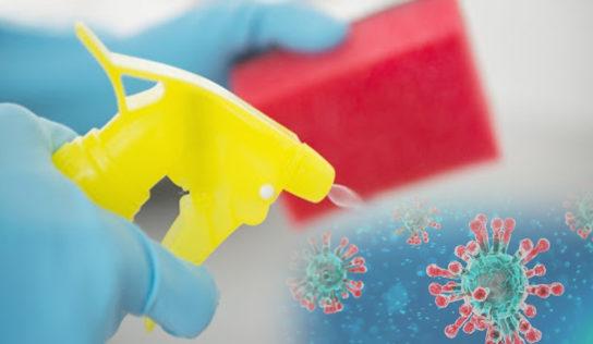 Desinfecta tu casa de Coronavirus: Valiosos consejos de limpieza para usar ahora