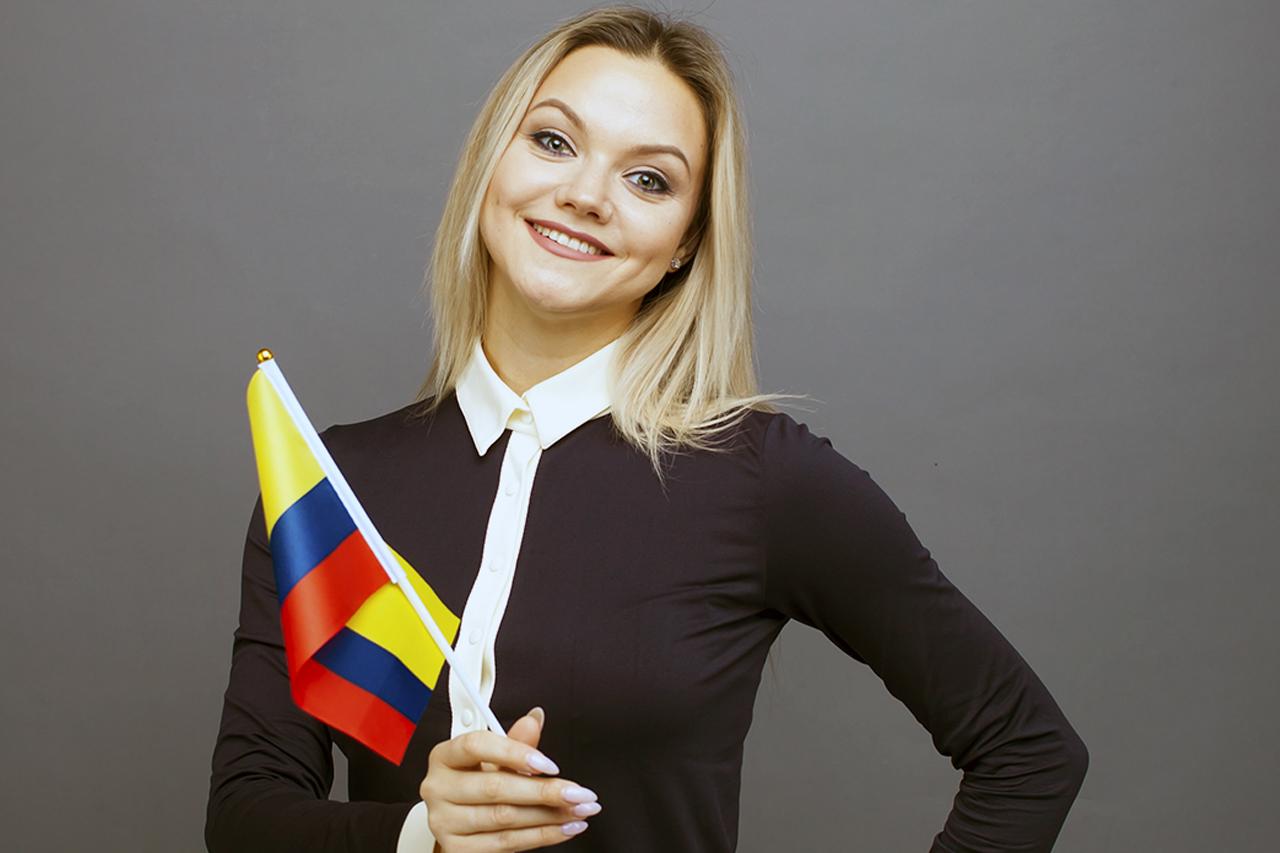 mujer de colombia