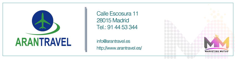 Agencia de viajes Aratravel