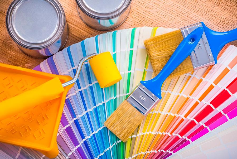 Pinceles y rodillos de pintura: ¿ Cuales son los usos y diferencias