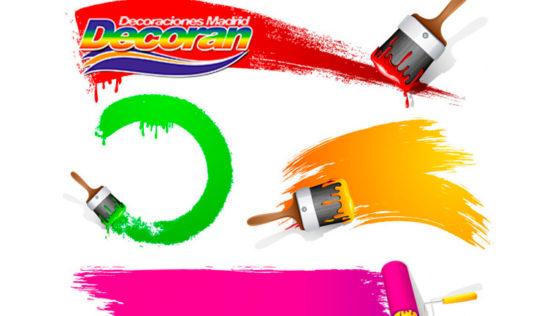Pinceles y rodillos de pintura: Usos y diferencias Por Decorán