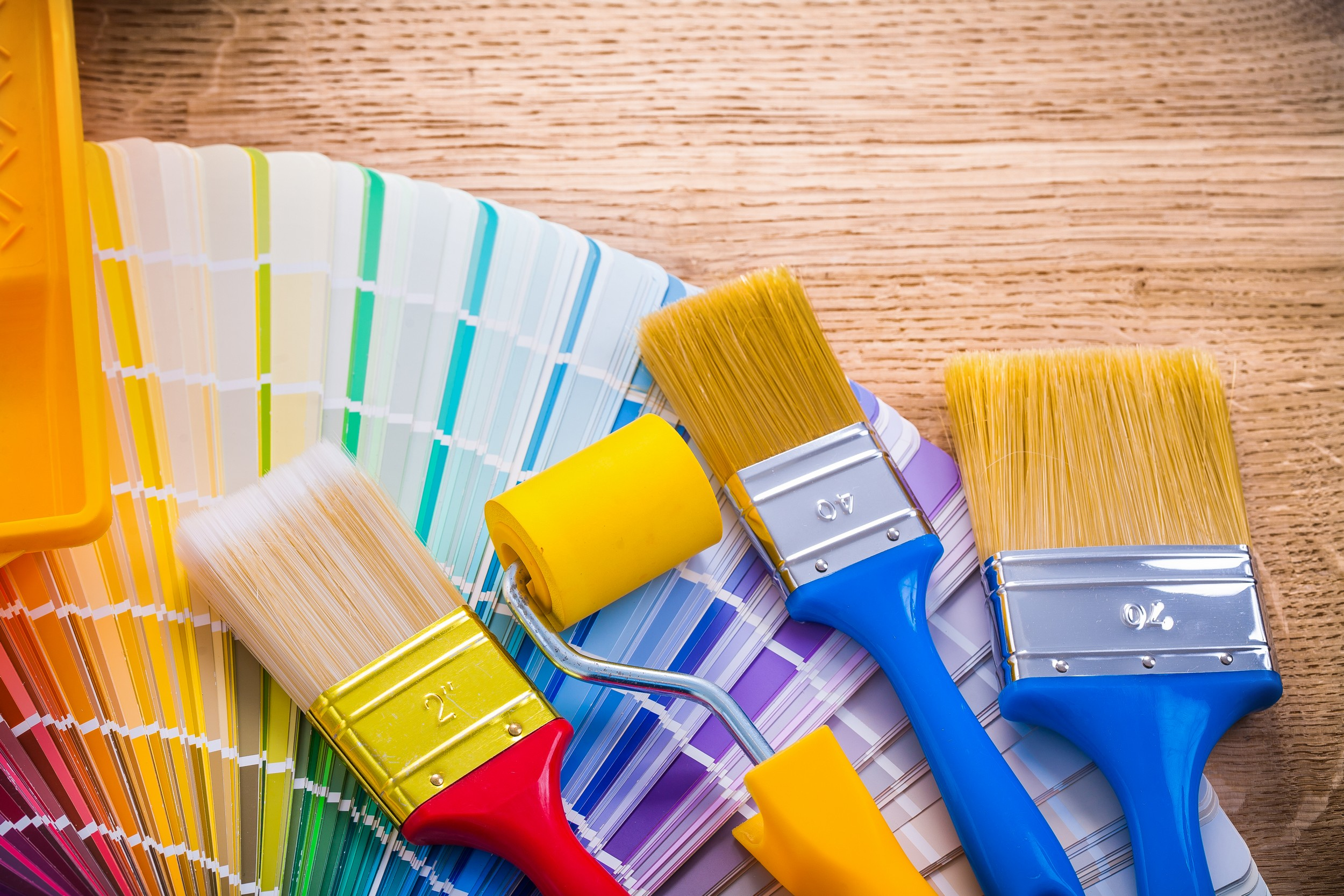 Pinceles y rodillos de pintura: algunos consejos para simplificar tu vida