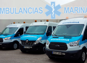 Ambulancias Marina: categorías y tipos de ambulancias de transporte médico privado