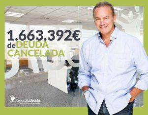 Repara tu Deuda Abogados cancela 1.663.392 € de deuda en Barcelona con la Ley de la Segunda Oportunidad