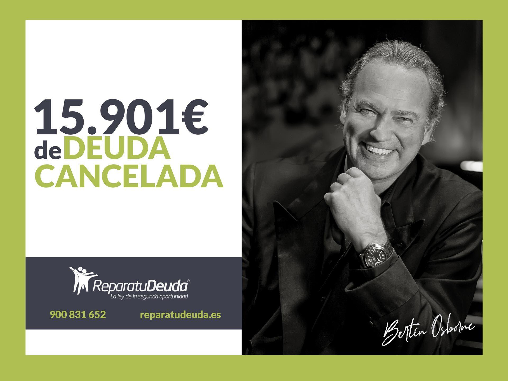 Repara tu Deuda Abogados cancela 15.901? en Madrid con la Ley de Segunda Oportunidad
