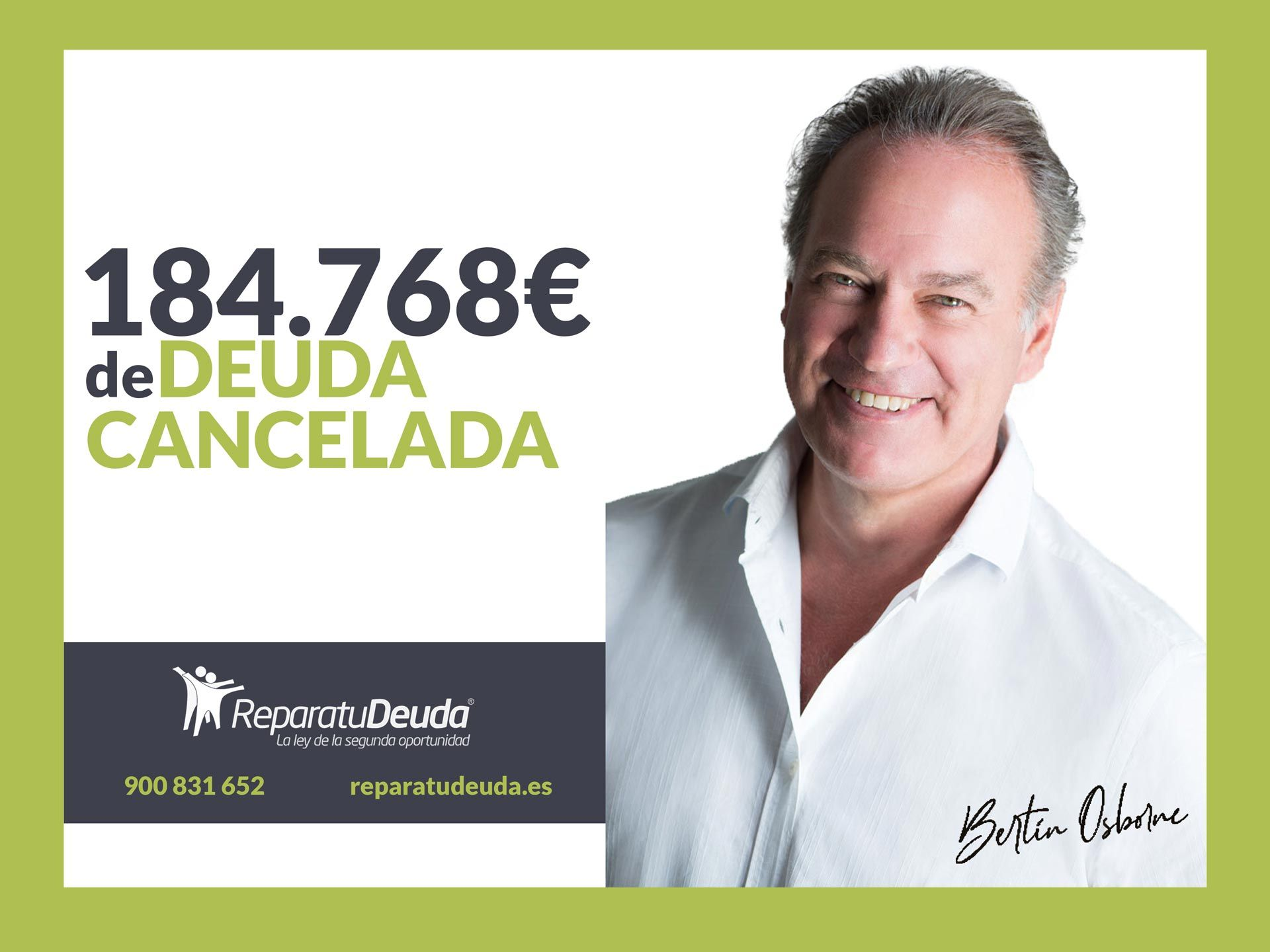 Repara tu Deuda cancela 184.768 ? en San Vicente del Raspeig (Alicante) con la Ley de Segunda Oportunidad