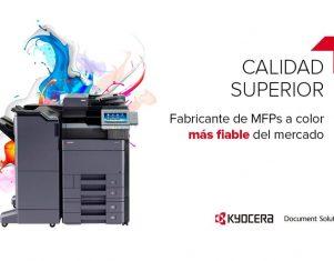Infocopy recomienda utilizar tóner original para garantizar el rendimiento óptimo de las máquinas Kyocera