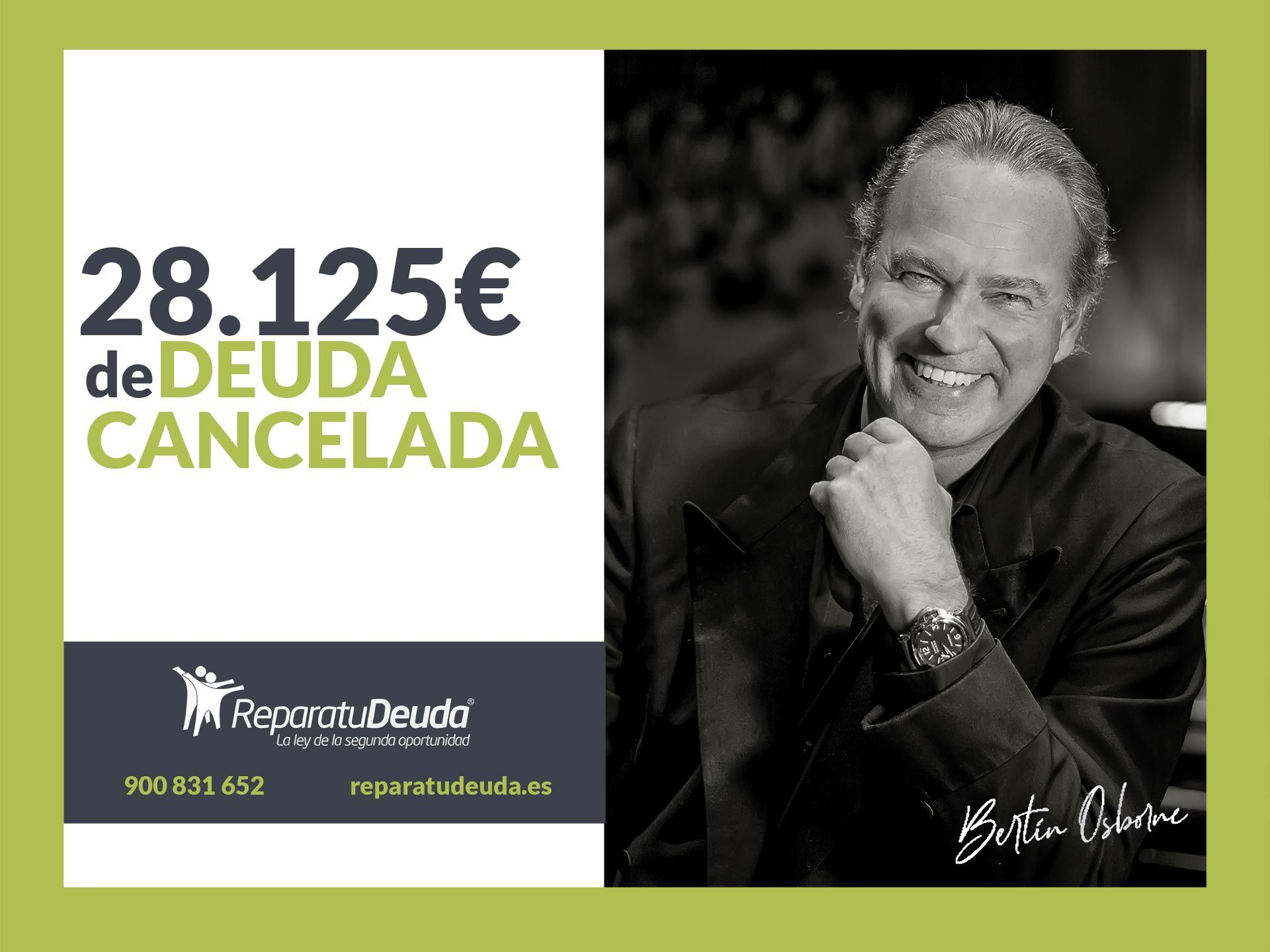 Repara tu Deuda abogados cancela 28.125 ? en Badajoz (Extremadura) con la Ley de Segunda Oportunidad