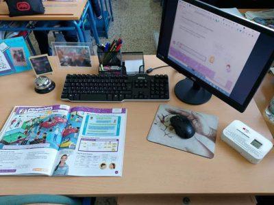 El AMPA del colegio Paulo Freire de Málaga instala 30 medidores de CO2 para controlar la calidad del aire en el centro escolar