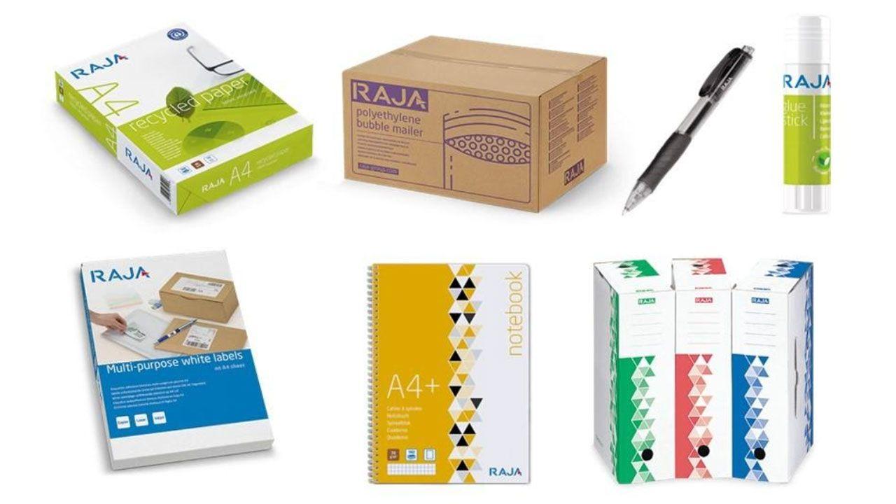 RAJA Group lanza su marca propia en el mercado de material de oficina