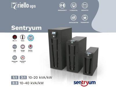 Riello Ups amplía su gama Sentryum con dos nuevos modelos