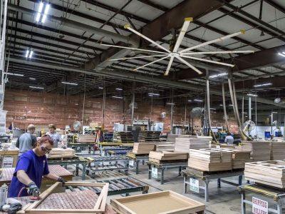 Evaporalia distribuirá en España y Portugal los ventiladores anti Covid-19 de la empresa norteamericana Big Ass Fans