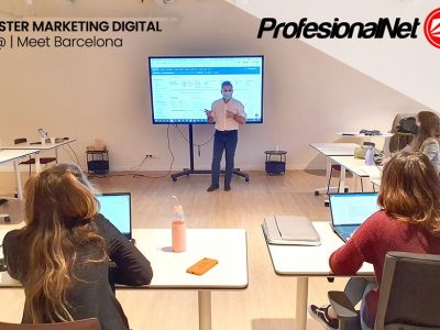 Curso estrategias de marketing digital para emprendedores impartido por Gilberto Ripio