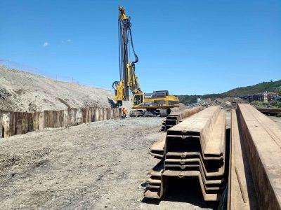 Comienzan las obras de las primeras viviendas de la Isla Zorrozaurre, en Punta Norte