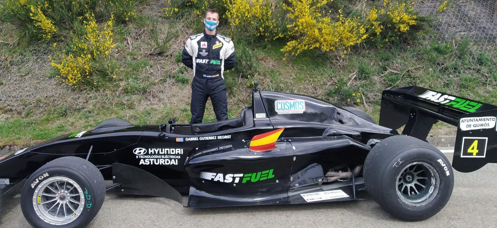 Gabriel Gutierrez Siegrist gana la II Subida a la Cobertoria con un Tattus F-3000 patrocinado por Fast Fuel