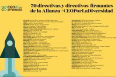 2ª edición Alianza #CEOPorLaDiversidad, reúne a 70 compañías para frenar la pobreza y exclusión en España