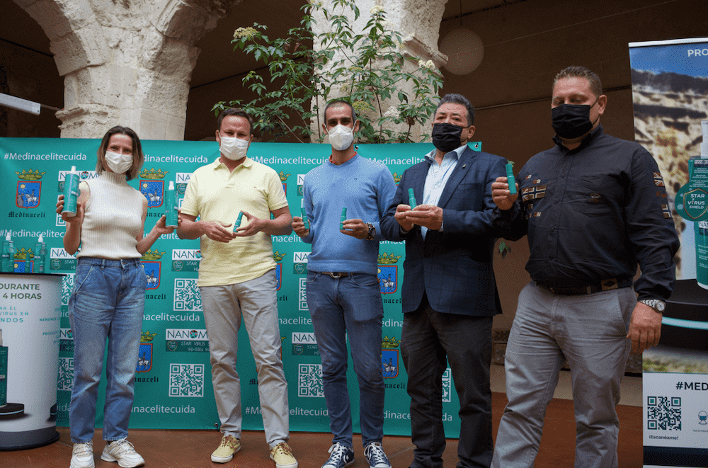 El Ayuntamiento de Medinaceli da un paso mas para proteger a sus vecinos de contagios