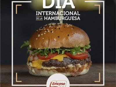 Emcesa celebra el Día Internacional de la Hamburguesa con sus seguidores en las redes sociales