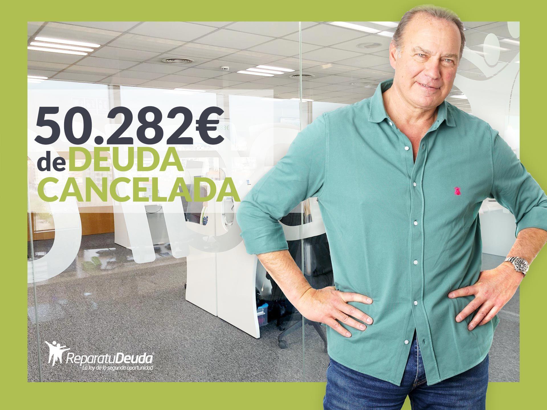 Repara tu Deuda abogados cancela 50.282? en Barcelona con la Ley de Segunda Oportunidad