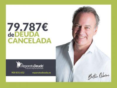 Repara tu Deuda cancela 79.787€ con deuda pública en Logroño con la Ley de la Segunda Oportunidad