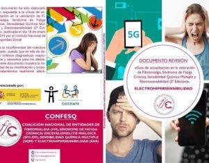 Asociaciones de pacientes de electrohipersensibilidad publican un documento que revisa una guía del INSS