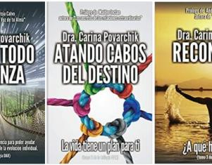 La doctora Carina Povarchik comparte su método del metabolismo del dolor emocional en la trilogía 'DAR'