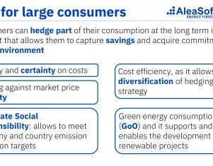 AleaSoft: «Los PPA pueden ayudar a la industria electrointensiva, pero deben ser a precios competitivos»