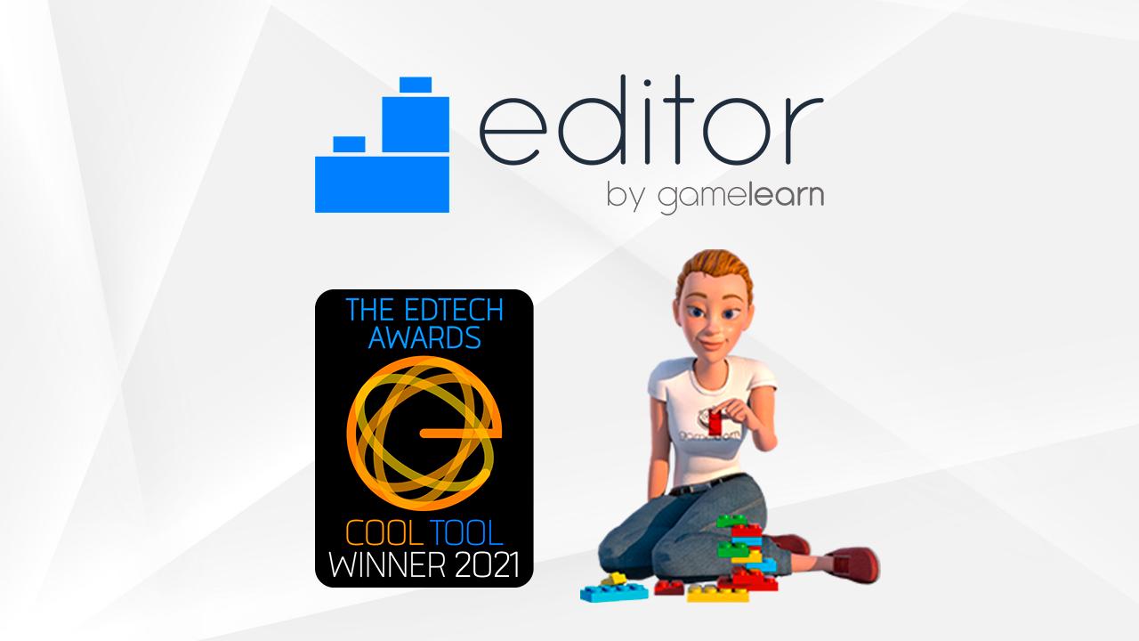 Gamelearn gana el premio EdTech 2021 a la mejor herramienta de autor