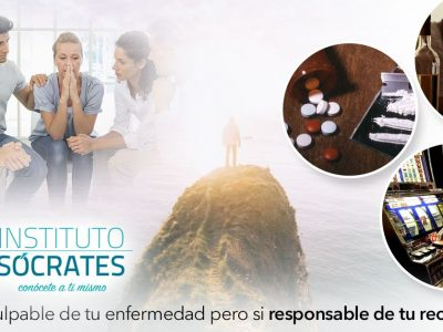 Centro de Adicciones Instituto Sócrates, especialistas en recuperación de adicciones sin ingreso