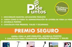 Comprar lotería en la App de Pideloto ahora tiene doble de premio gracias a: Pidepuntos