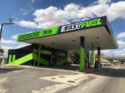 La cadena Fast Fuel suma una nueva gasolinera low-cost a su red y ya suma 13 entre España y Portugal