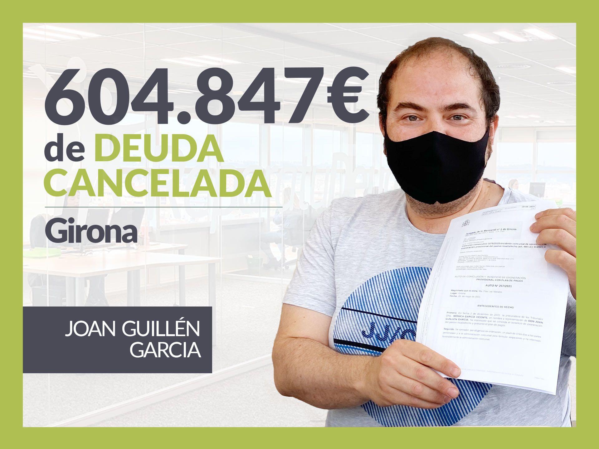 Repara tu Deuda Abogados cancela 604.847? en Girona con la Ley de Segunda Oportunidad