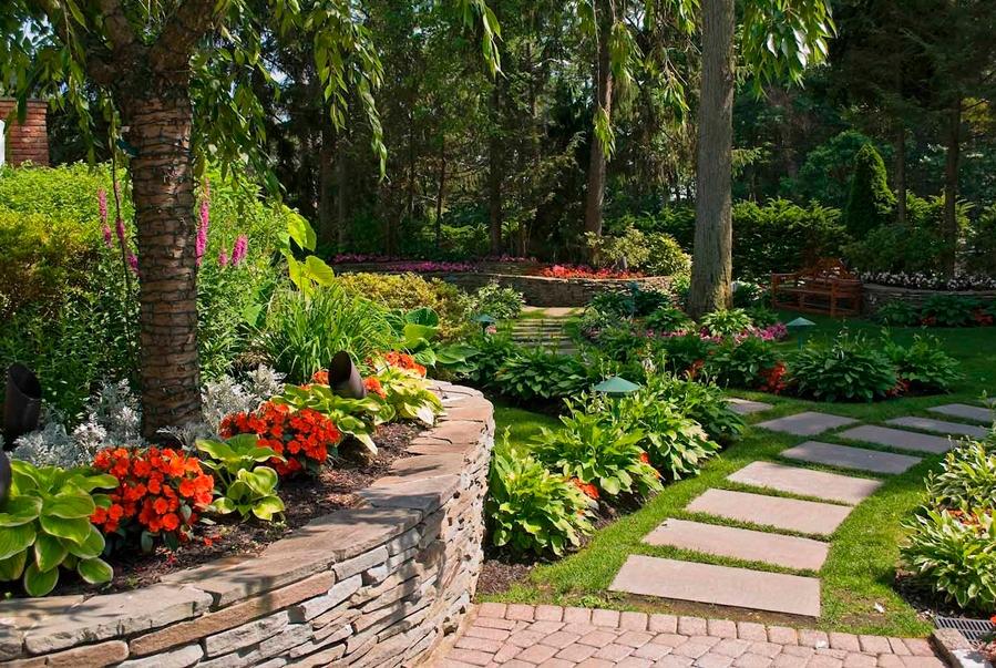 Una visión global del jardín