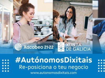 La Xunta de Galicia impulsa la formación en competencias digitales de los autónomos/as de Galicia