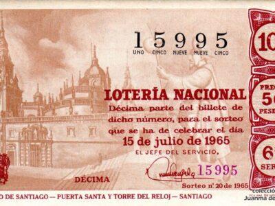 El Jacobeo 2021-2022, una muestra de la relación entre el Camino de Santiago y la Lotería Nacional