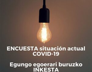 Un 21% de las enfermeras guipuzcoanas se ha contagiado de COVID-19, según una encuesta del COEGI