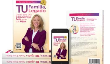 «Tu Familia, Tu Legado» de Sandra Borrás Bueno alcanza la categoría de Best Seller en Amazon