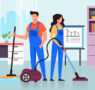 Empresas de limpieza, los beneficios de su intervención