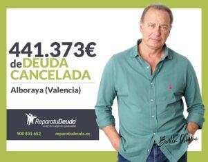 Repara tu Deuda Abogados cancela 441.373€ en Alboraya (Valencia) con la Ley de Segunda Oportunidad
