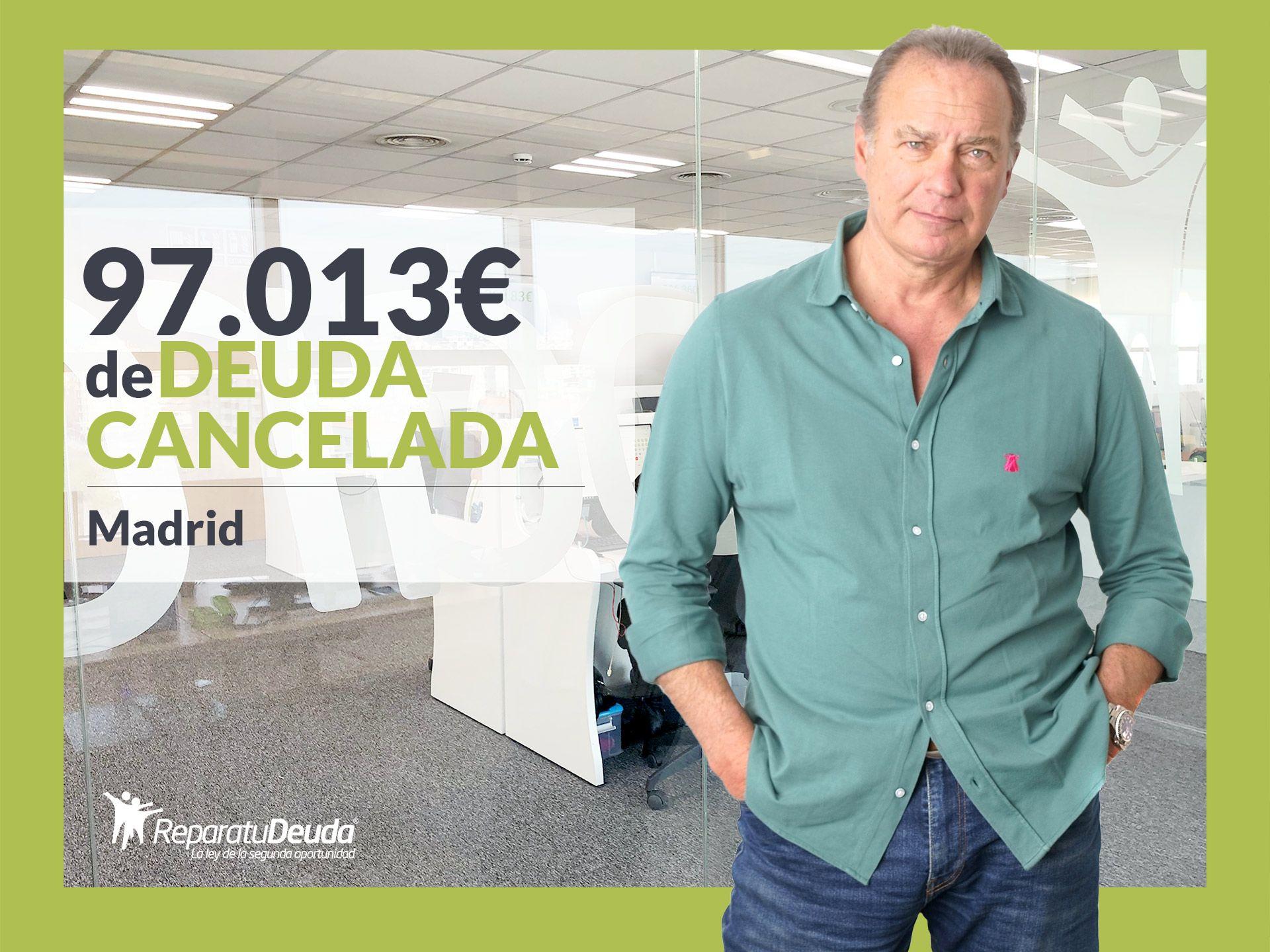 Repara tu Deuda Abogados cancela 97.013 ? a un matrimonio de Madrid con la Ley de Segunda Oportunidad