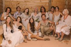 Merel y Alok, los creadores de World Family Ibiza, se dan el «sí quiero» en la boda más auténtica del año