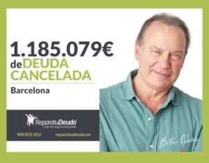 Repara tu Deuda Abogados cancela 1.185.079 € en Barcelona (Catalunya) con la Ley de la Segunda Oportunidad