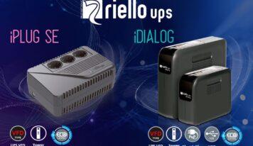 Las series SAI iPlug SE e iDialog de Riello UPS ofrecen tranquilidad asegurada contra problemas eléctricos