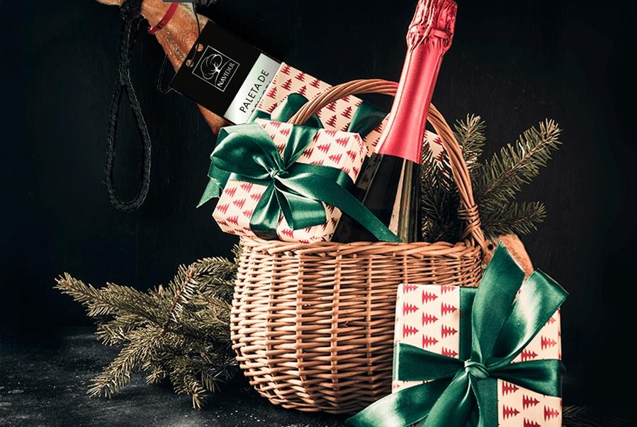 cesta de Navidad